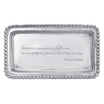 Berkshire: Berkshire Hathaway Quotable Warren Buffett Statement Tray