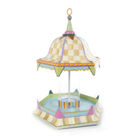 courtly check: MacKenzie Childs Courtly Check Bird Feeder