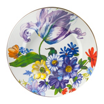 courtly check: Mackenzie-Childs Flower Market Enamel Dinnerware