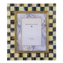 courtly check: MacKenzie-Childs Courtly Check Picture Frame