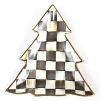 courtly check: MacKenzie Childs Courtly Check Tree Dish