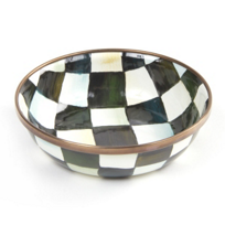 courtly check: Mackenzie Childs Courtly Check Relish Dish