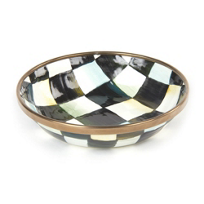 courtly check: Mackenzie Childs Courtly Check Oil Bowl