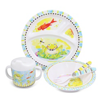 MacKenzie_Childs_Frog_Toddler_Dinnerware_Set