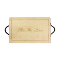 Maple_Leaf_at_Home_Rectangle_Board_With_Handles,_Bless_This_Home