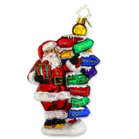 Christopher_Radko_BRK_Santa_Ornament