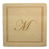 "Maple_Leaf_At_Home_12""_Square_""M""_Board_No_Handles"