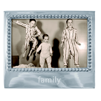 "Mariposa_""Family""_Statement_Hortizontal_Picture_Frame"