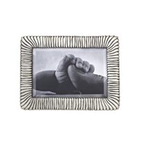 L'Objet_Pleated_Antique_Platinum_4x6_Frame
