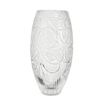 "Waterford_Irish_Shamrock_Vase,_10""_"