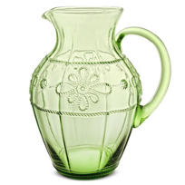 Juliska_Colette_Pitcher,_Green