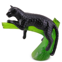 Daum_Panther_Black_on_Emerald_Tree_Branch