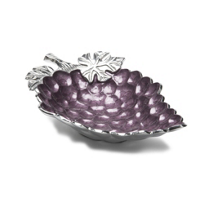 Julia_Knight_Amethyst_Grape_Cluster_Bowl,_18""