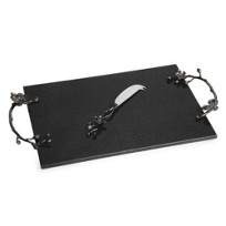 Michael_Aram_Black_Orchid_Cheese_Board_and_Knife