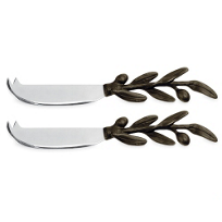 Michael_Aram_Olive_Branch_Cheese_Knife,_Set_of_Two