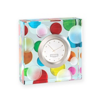Spaceform_Polka_Spots_Clock