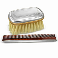 Reed_&_Barton_Kent_Boy's_Bursh_and_Comb_Set