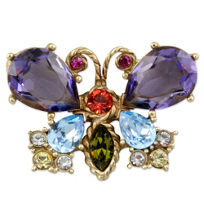 "Jay_Strongwater_""Violet""_Butterfly_Jewel_Pin"