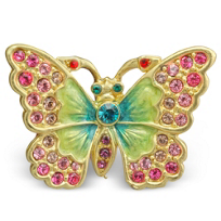 "Jay_Strongwater_Angelly_Petite_Butterfly_Pin,_1.5""_wide,_1""_tall"