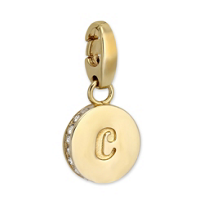 """Spartina_449_""""C""""_Round_Crystal_Letter"""