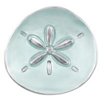 Mariposa_Sand_Dollar_Small_Plate,_Aqua