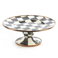 MacKenzie-Childs_Courtly_Check_Pedestal_Platter_-_Mini