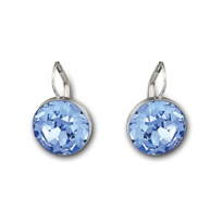 Swarovski_Bella_Light_Sapphire_Pierced_Earrings