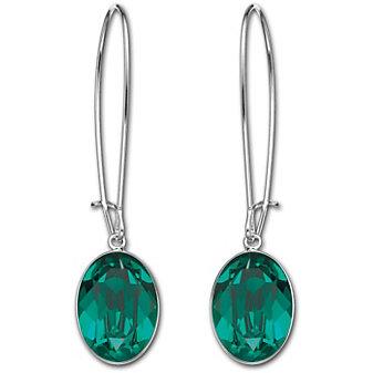 Swarovski_Puzzle_Pierced_Earrings_Emerald