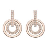 Swarovski_Rose_Gold-Plated_Circle_Mini_Pierced_Earrings