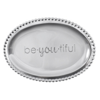 "Mariposa_""be.you.tiful""_Small_Oval_Tray"