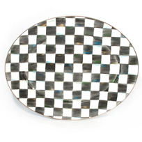 MacKenzie-Childs_Courtly_Check_Large_Enamel_Oval_Platter