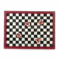 MacKenzie-Childs_Courtly_Check_Enamel_Message_Board