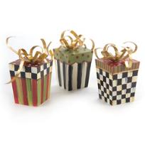 MacKenzie-Childs_Gift_Box_Ornaments,_Set_of_3