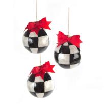 MacKenzie-Childs_Jester_Fancy_Small_Ornaments,_Set_of_3