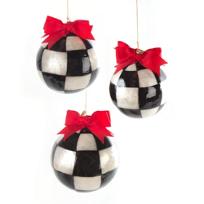 MacKenzie-Childs_Jester_Fancy_Large_Ornaments,_Set_of_3