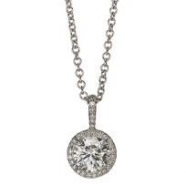 18K_White_Gold_Forevermark_Round_Diamond_and_Round_Diamond_Halo_Pendant