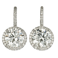 18K_White_Gold_Round_Diamond_Halo_Drop_Earrings,_4.38cttw