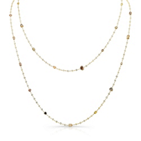 Rahaminov_18K_Yellow_Gold_Mixed_Cut_Diamond_Necklace