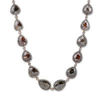 18K_Rose_Gold_Brown_and_White_Diamond_Necklace_