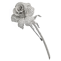 18K_White_Gold_Round_Diamond_Rose_Pin
