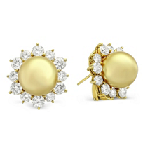 18K_Yellow_Gold_Golden_South_Sea_Cultured_Pearl_and_Round_Diamond_Earrings