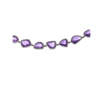 18K_White_Gold_and_Black_Rhodium_Faceted_Purple_Sapphire_Slice_and_Round_Diamond_Bracelet