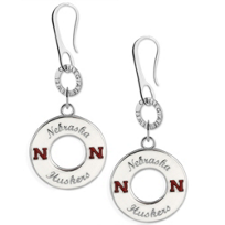 Nebraska_Huskers_Earrings