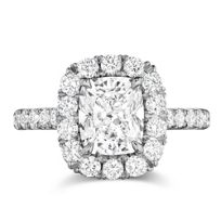 Henri_Daussi_Cushion_Diamond_and_Round_Diamond_Halo_Engagement_Ring,_1.60cttw