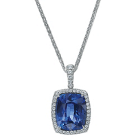 J.B._Star_Platinum_Cushion_Sapphire_and_Round_Diamond_Pendant