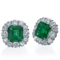 J.B._Star_Platinum_Emerald_Cut_Emerald_and_Round_Diamond_Earrings