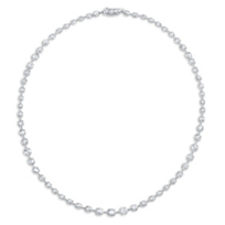 Rahaminov_18K_White_Gold_Rose_Cut_Diamond_Necklace