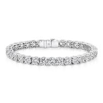 """Platinum_Forevermark_Diamond_Bracelet,_7"""""""