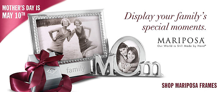 Mariposa Picture Frames