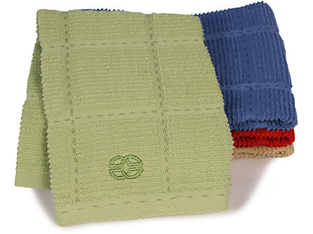Calphalon 17x30-in. Terry Towel: Green Apple